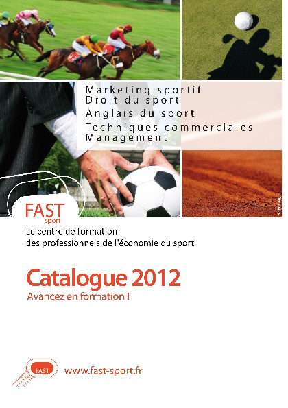 FAST sport-Catalogue 2012