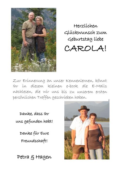 Die ersten E-Mails mit Familie Köder