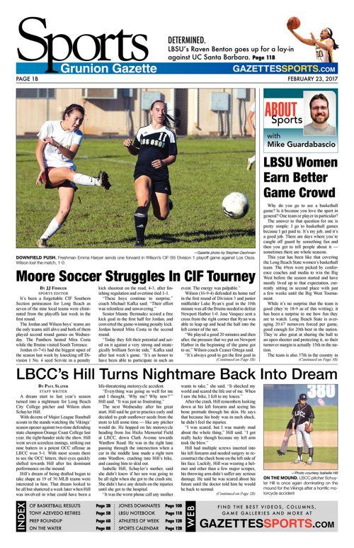 Gazette Sports  |  February 23, 2017