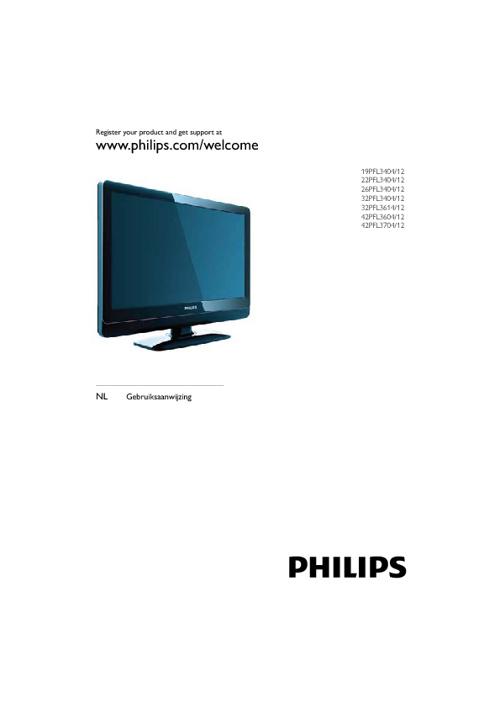 Gebruiksaanwijzing tv