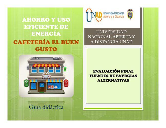 Programa ahorro y uso eficiente