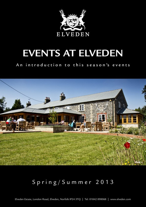 Elveden Spring-Summer Events