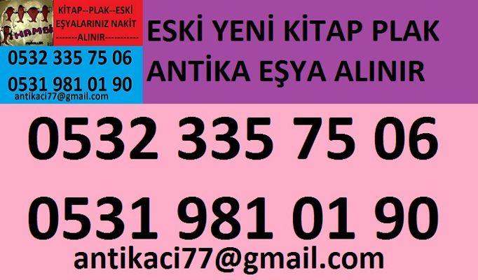 Anadoluhisarı mahallesinden 0532 335 75 06 ikinci el eski kitap