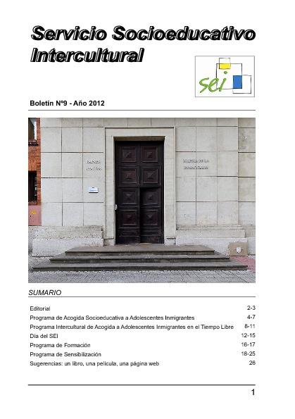 Boletín Sei Junio 2012