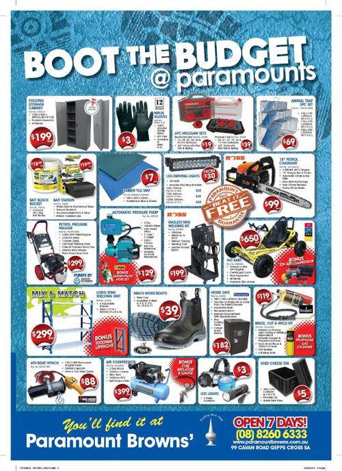 Paramount Browns Catalogue June 2015