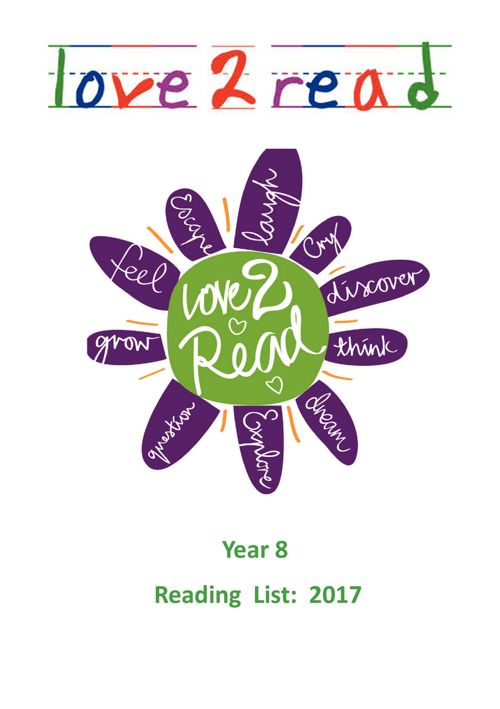 KGGS Year 8 Reading List 2017 - 2018