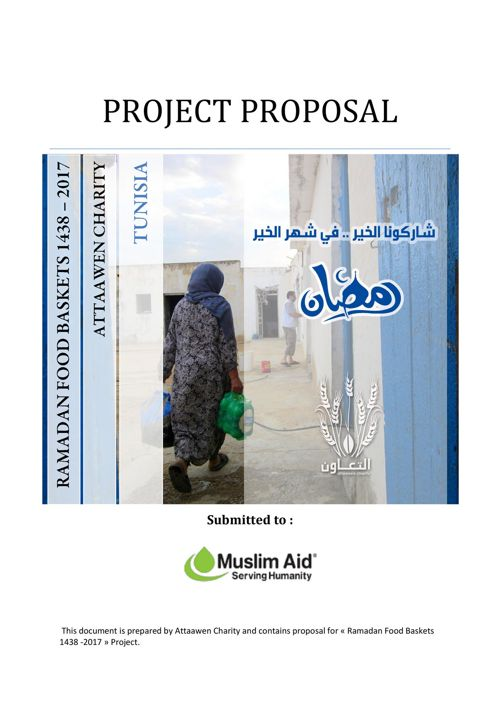 RAMADAN FOOD BASKETS 1438  2017 Proposal - Muslim Aid