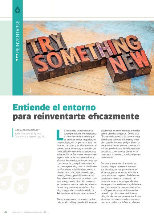 113 Entiende el entorno para reinventarte eficazmente