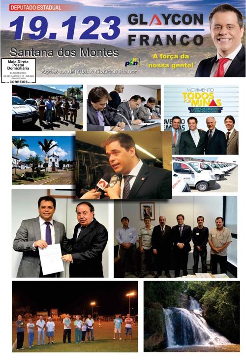 Jornal Santana dos Montes - Glaycon Franco