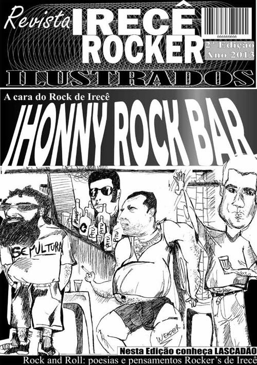 Revista Irecê ROCKER Ilustrados 2ª Edição