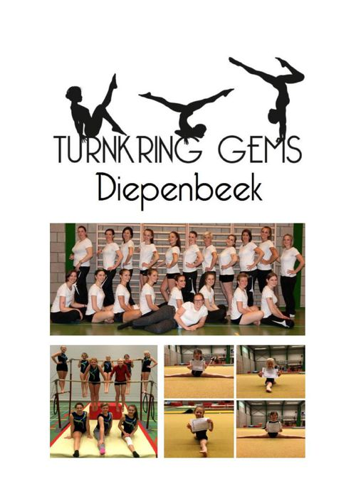 Turnkring Gems Diepenbeek: folder 2015 - 2016