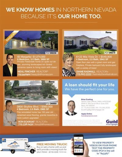 SNP homes for sale in the December Homes & Land!