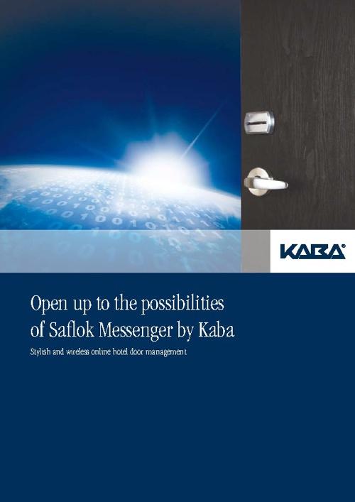 Kaba-Saflok Messenger brochure