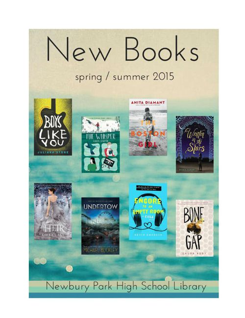 New Books Spring 2015