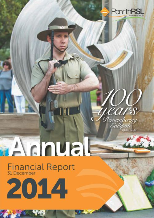 Penrith RSL 2014 Annual Report