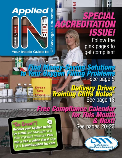 Applied Inside Issue 6 2013