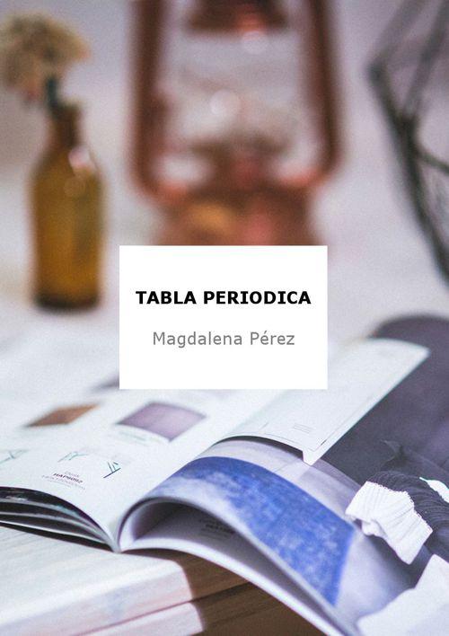 FOTOS DE TABLA PERIODICA