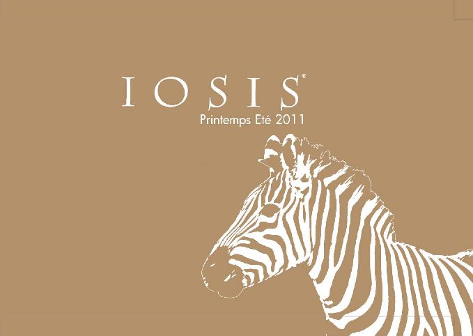 Spring-Summer 2011 IOSIS Catalog