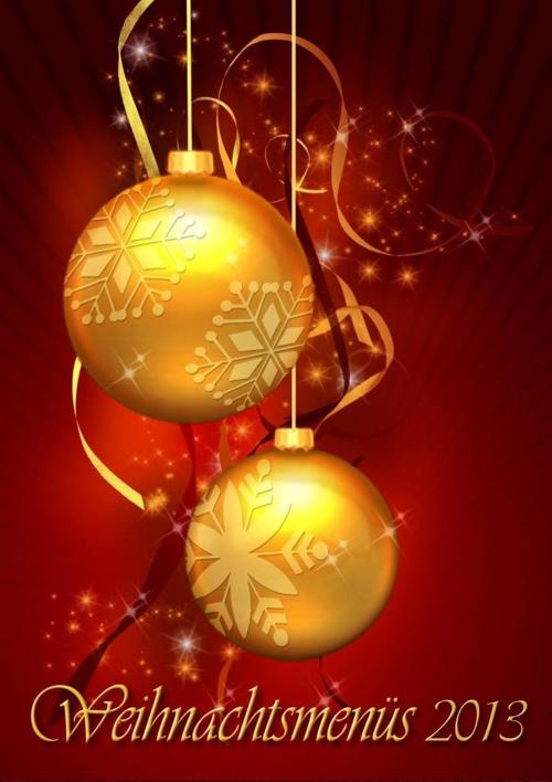 Weihnachtskarte Hotel-Restaurant Krone