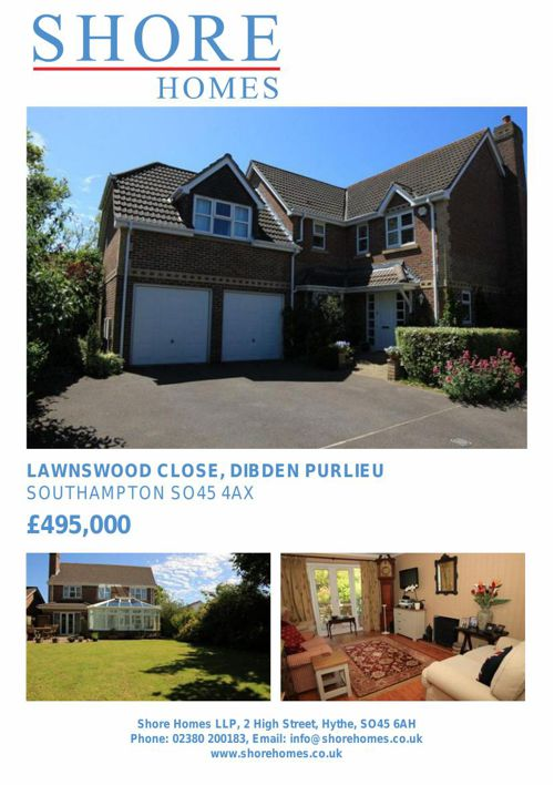 Lawnswood Close, Dibden Purlieu, SO45 4AX