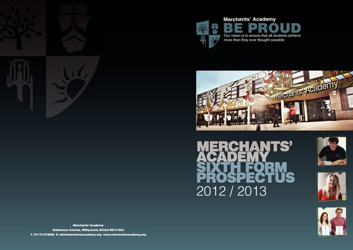 Merchants' Academy Sixth Form Prospectus