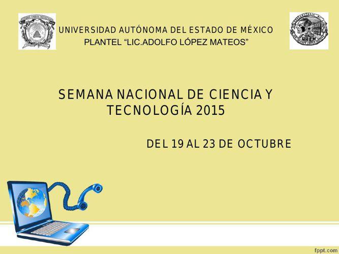 presentación semana de la tecnología