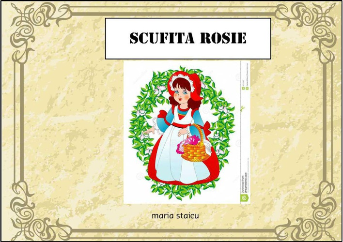 Scufita Rosie Maria