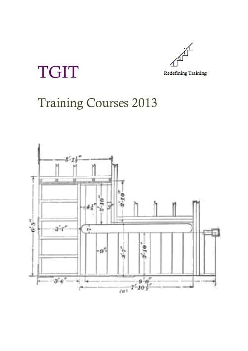 TGIT Traning Courses 2013