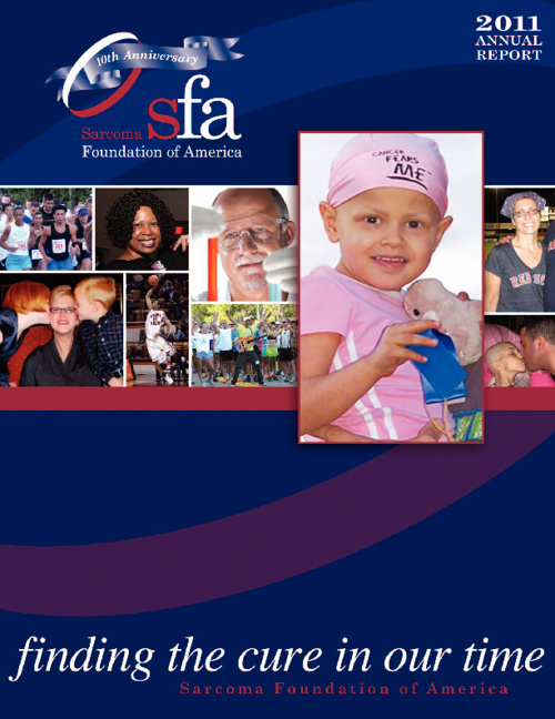 Sarcoma Foundation of America 2011 Annual Report