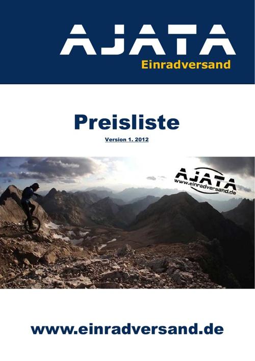 AJATA Preisliste 01.2012