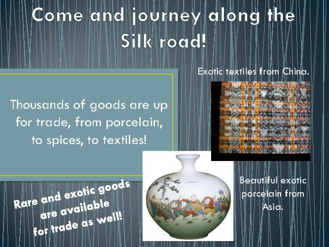 Silk Road Advertisement