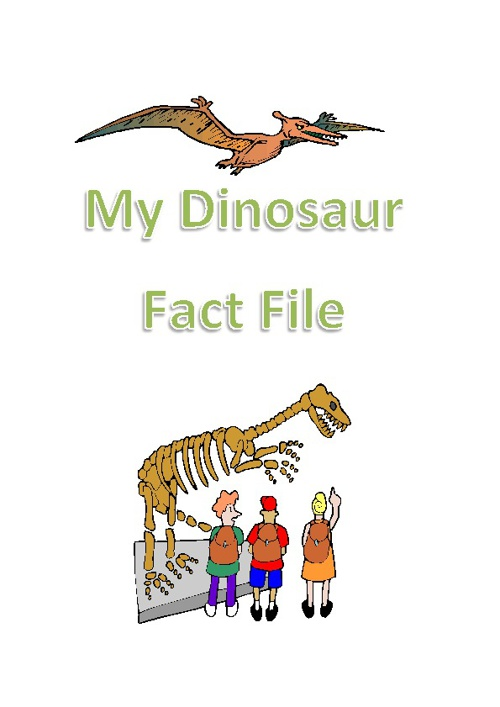 KS1 Dinosaur Book