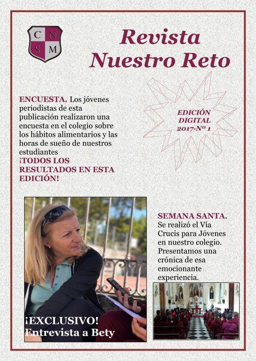RevistaNuestroReto -1º Edición - 2017