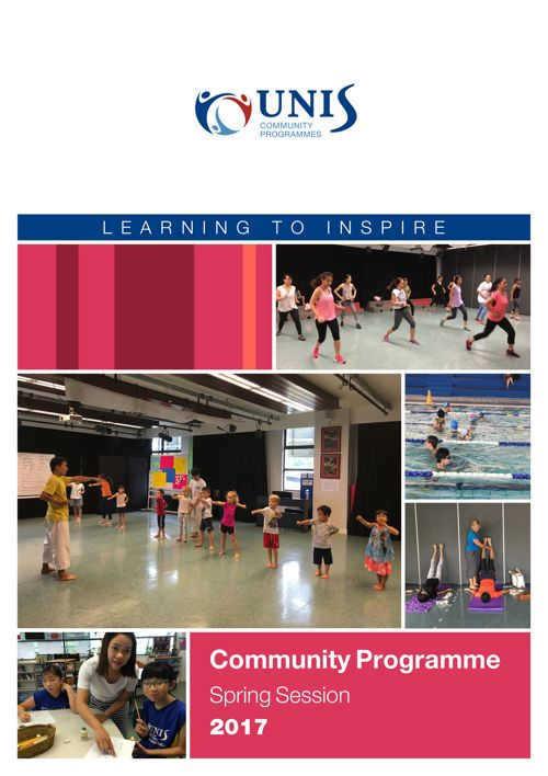 Community Programmes Brochure Spring Session 2017