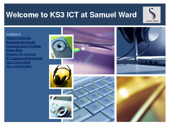Welcome to KS3 ICT