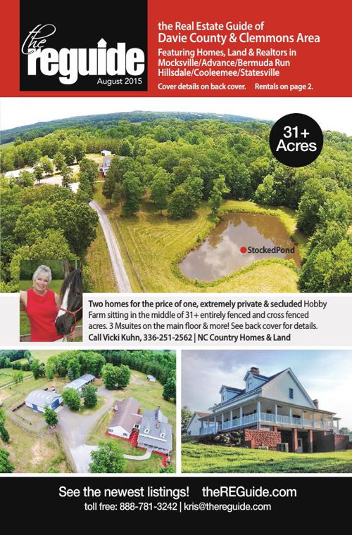 August Davie/Clemmons Real Estate Guide