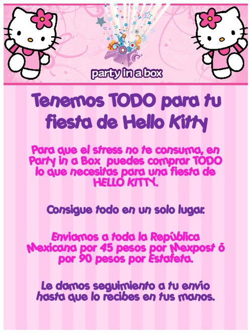 Catálogo Hello Kitty
