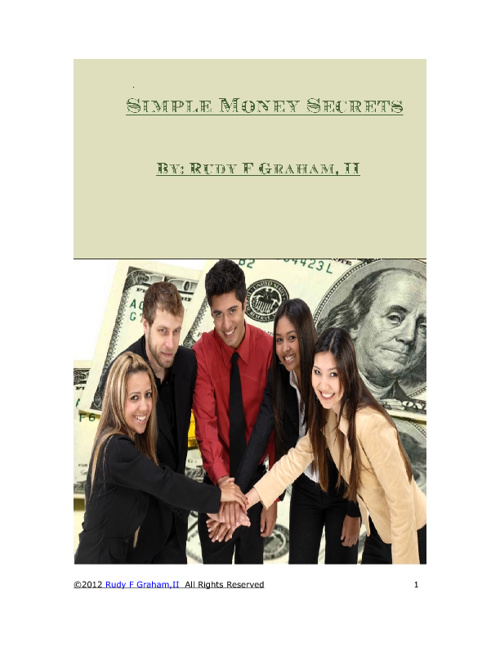 Simple Money Secrets