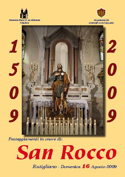 Cinquecentenario San Rocco