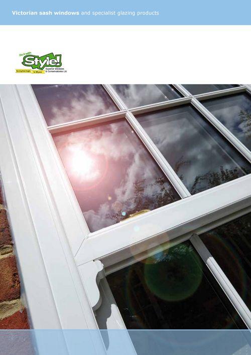 Style Superior Branded - Sternfenster Victorian Sash Windows