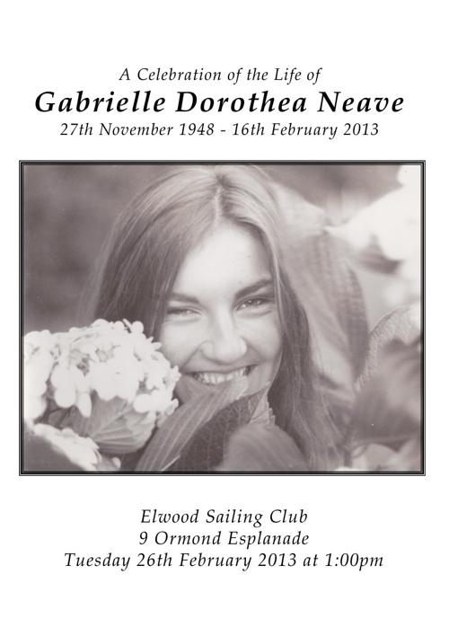 Gabrielle Neave