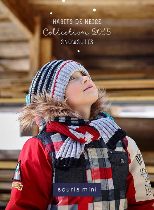 Souris Mini - Habits de neige / Snowsuits Collection 2015