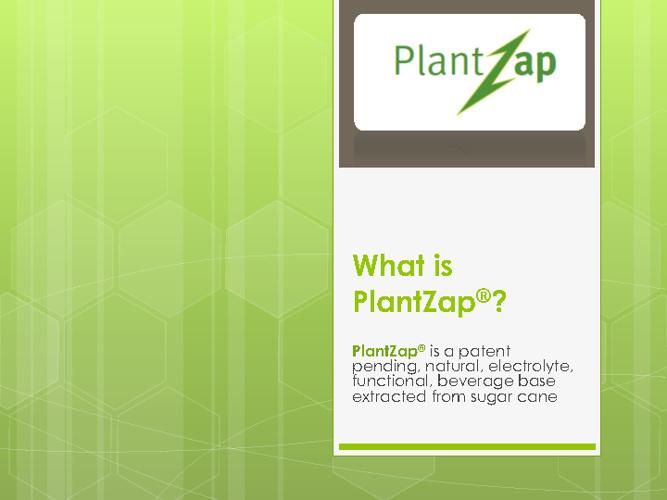 PlantZap March 2012 Investor Flipbook