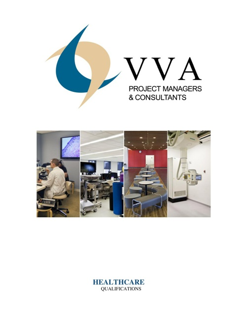 VVA Project Managers & Consultants Digital Healthcare Brochure