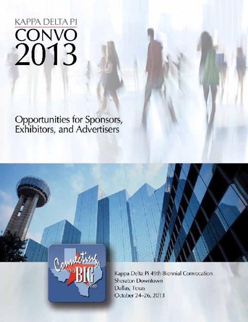 Convo 2012 Sponsorship Brochure