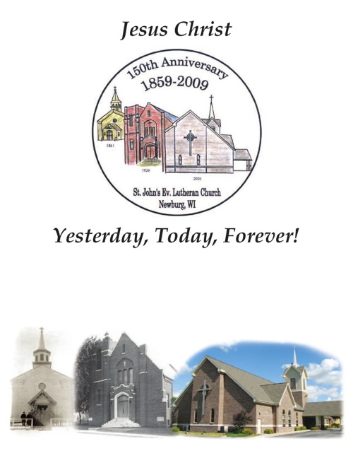 The History of St. John's Ev. Lutheran Church - Newburg, WI