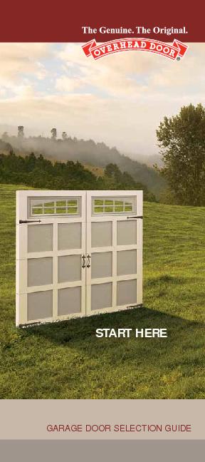 Garage Door Selection Guide