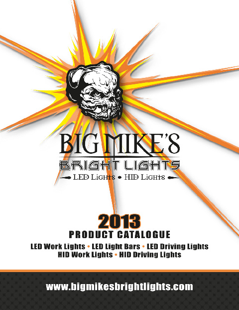 Big Mike's Bright Lights - 2013 Catalog