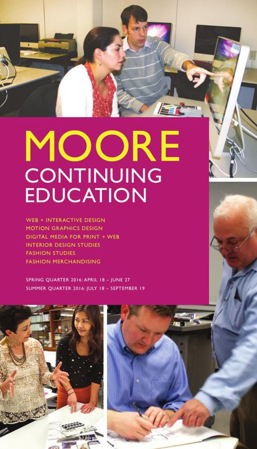Moore CE Spring 2016 Catalog