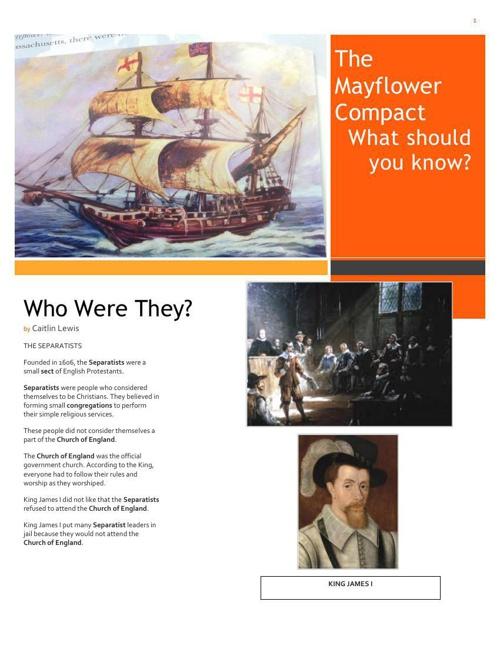 Flip Book. Mayflower Compact2